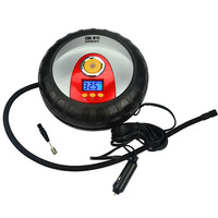 2014 New Mini Portable Air Compressors Pump for Car/Vehicle/Bicycle/Motorcycles Free Shipping