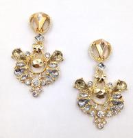 2014 New fashion women stud Earrings for women girl party earring Factory Price acrylic statement earring