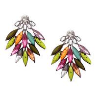 2014 New fashion women statement Z design stud Earrings for women fashion earring Factory Price wholesale women gift