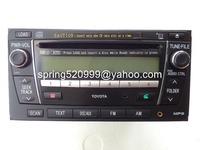 Toyota PZ366-12102 Fujitsu ten 6 CD changer MP3 Bluetooth for Toyota Land Cruiser FJ Prado car 6 disc radio with Bluetooth
