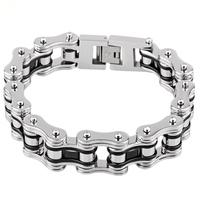 OL style Titanium steel  bicycle chain bracelet titanium steel bracelet handsome bicycle chain domineering fashion birthday gift