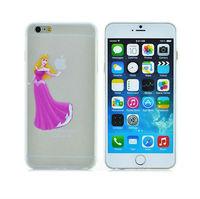 Ultra-thin light slim Creative Princess Aurora 3D cartoon cover fashion girl logo phone case For iphone 6 plus PT1432