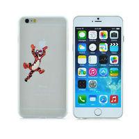 Ultra-thin light slim Creative Tigger Tiger pattern cartoon cover fashion logo phone case For iphone 6 plus PT1434