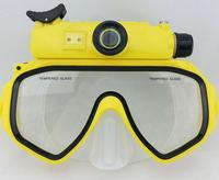 HD191 Sport Camera Ambrella 1080P 5MP CMOS Mini Diving Mask Camera 30m Waterproof Portable Camcorders Fashion Design