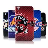 NBA Thunder basketball Jordon Lakers Heat leather flip mobile phone cover case for LG Optimu L5II E455