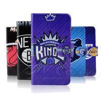 NBA Thunder basketball Jordon Lakers Heat leather flip mobile phone cover case for Lenovo K920