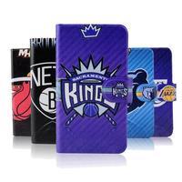 NBA Thunder basketball Jordon Lakers Heat leather flip mobile phone cover case for Samsung Galaxy mega 2 G7508Q