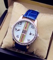 2014 new design diamond High Quality rose gold men Watches women Luxury Wristwatches Casual fashion Dress Watch quartz watch