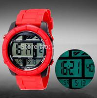 SHORS Unisex Casual Sports Watches LED Waterproof Fashion digital watch Military Watch women wristwatches