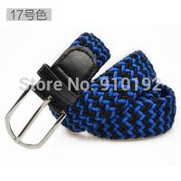 universal canvas woven elastic stretch needle stitching wild rubber band belt