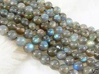 "6mm Indian Labradorite Round Loose Semi-precious stonestones Beads 15"""