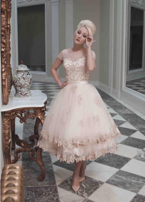 standard length wedding dresses