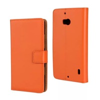 New 9 colors smooth Wallet Genuine leather Case For Nokia Lumia 930 Phone Cases with Card holder