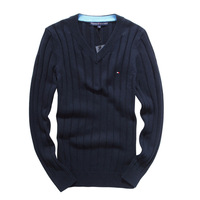 High Quality New 2014 Autumn Winter Dress Knitted Sweater Men Clothing Brand Casual Shirt Cashmere Wool Pullover O-Neck M-XXL65