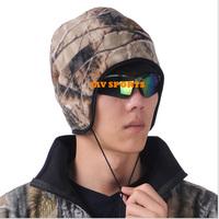 Bionic hunting mossy oak camouflage winter cap hunting winter fleece cap+Free shipping(SKU12050374)