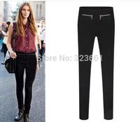 New Fashion Women Zara2014 Pants Plus Size Casual lulu Pencil Pantalones Zipper Leisure Leggings