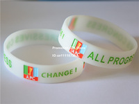 APC - All Progressives Congress Bracelet, APC CHANGE! Silicon Wristband, Custom Design are Welcome, 100pcs/Lot, Free Shipping