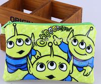 50pcs/lot Alien new arrive Pencil Case Box Cosmetic Bag Alien Pouch-large plush pencil box hot 19*13cm