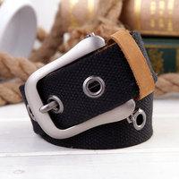 Mens Canvas Belt Cintos Male Elastic Belt Casual Waist Strap Men Gift Belts PK458