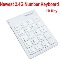 18 keys 2.4g wireless Numeric Keypad Number Keyboard For Laptop supermaket