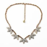 Lulu Crew Inspired Super Sweet Retro Designs Pearls TUILERIES Statement Necklace
