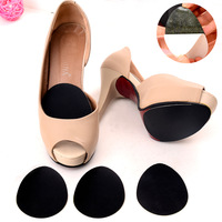 heels palm slip stickers affixed to the shoe soles slip resistant anti-skid pad