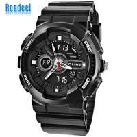 2014 Fashion Men Sport Watch Silicone Men Quartz Sports Watches 50m Waterproof Diving Alarm Clock Men Wristwatches casual watch