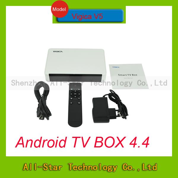 Телеприставка Vigica V5 Amlogic S805 4.4.2 1G /8G Cortex A5 4 K h.265 WiFi 2.4g Android XBMC