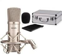 ICON M1 Professional Large-diphragm Condenser Microphone for Music Studio PC Recording Radio