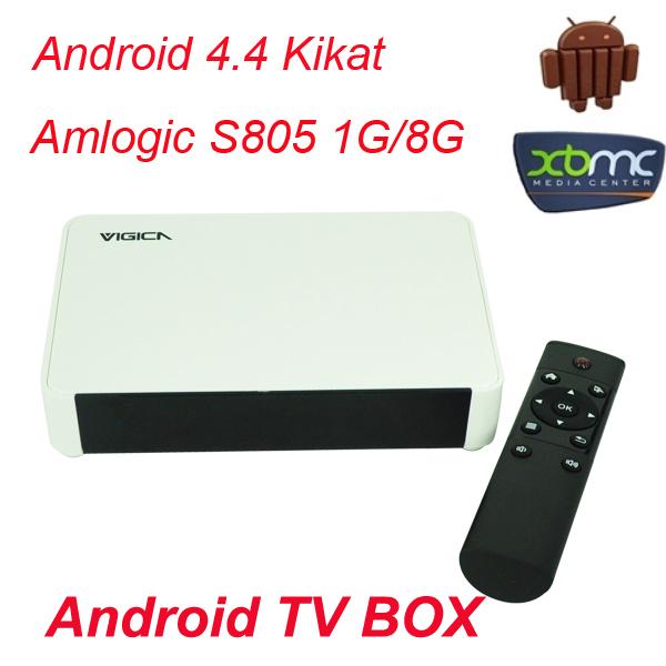 Телеприставка Vigica V5 Amlogic S805 A5 4K 4.4 /1g /8G WIFI Bluetooth 4.0 XBMC 13.1 Android