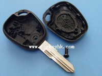 "Renault key Best quality  Renault 1 button remote key shell with ""valeo"" on the blade and with logo for renault laguna 2"