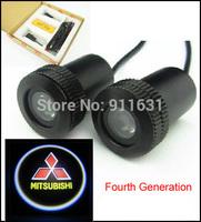 4th Gen 2PCS Car Logo Door Light  LED Welcome Light Projector Lamp Bulb Car Logo Shadow Light 3.5cm(L) X 1.8cm(W)