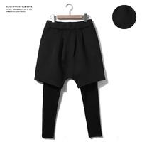 New autumn winter warm pants for men brand fashion neoprene hip hop plus size harem pants mens running tights Nora10575