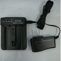 LP-E4 Battery Charger for Canon EOS 1DS Mark III / 1D Mark III 4 / Mark IV / LC-E4