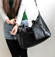 Best Selling Women Large Leather Vintage Fashion Rivet Designer Messenger Shoulder Bags Bolsas De Marca Bolsos Mujer 2014