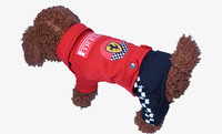 New Design Dog Clothes Warm Winter Jacket Firelli Race Suit Dog Clohtes Thick Pet Products Clothing for Small Medium Dogs