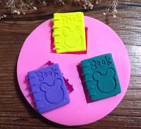 New Arrival!  Design 354  Mini Book  Shape Silicone  Mold, 3D Fondant Mold,Soap Mold,Chocolate Mold,Cake Decoration Tool