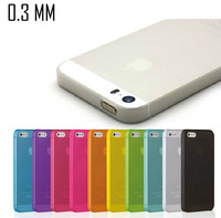 Hot ! Slim 0.3 mm cases colorful PP Mobile phone case cover for iphone 6 6g ( 4.7'' ) 5 5s 4 4s free shipping