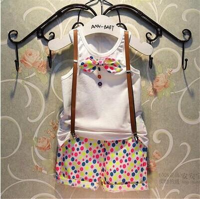 baby children's roupas atacado terno menino menino academia suspender roupa + colete(China (Mainland))