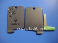 Renault key Best quality  Renault Laguna smart card cover 3 buttons with blade for renault