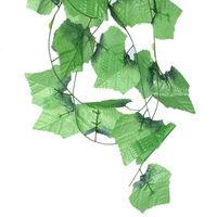 7.5Feet Artificial Ivy Vine Leaf Garland Plants Fake Foliage Flowers Deco   95608