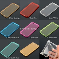A17 A7 New Design Slim 4.7 inch Transparent Soft Silicon TPU Crystal Clear Case Cover For iPhone6 Case For iPhone 6  CN160  P