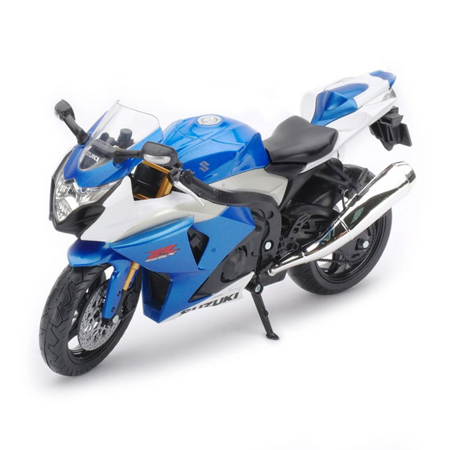 New Die Cast 1/12 Suzuki Gsx R1000 Motorcycle Model Sport Bike Replica(China (Mainland))