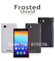 Original Nillkin Lenovo k910 phone case Super Shield Hard Back Case for Lenovo K910(VIBE Z) with free gift for Screen protector
