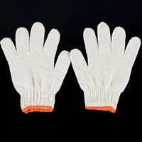 thin cotton gloves work gloves / drivers wear and one pair of gloves