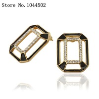 Wholesale earrings 10pcs/lot E788  Nickle Free 18K Real Gold Plated Earrings For Women EAR ornaments