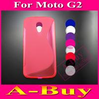 1X Soft TPU Gel S line Skin Cover Case For Motorola Moto G+1/ Moto G2 / New Moto G 2nd Gen (2014) XT1063 XT1068 XT1069
