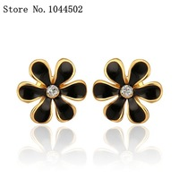 Wholesale earrings 10pcs/lot E678  Nickle Free 18K Real Gold Plated Earrings For Women EAR ornaments