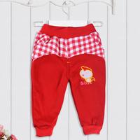 Top Brand Cartoon Warm Baby Sweatpants Cotton Fleece Pant for Boy Girl Unisex Autumn Spring Long Legging Trousers Tights