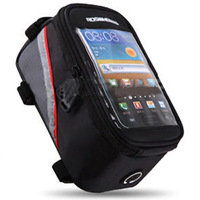 2015 Cycling Bike Bicycle Frame Front Tube Bag For Samsung Note 2 N7100 Cell Phone